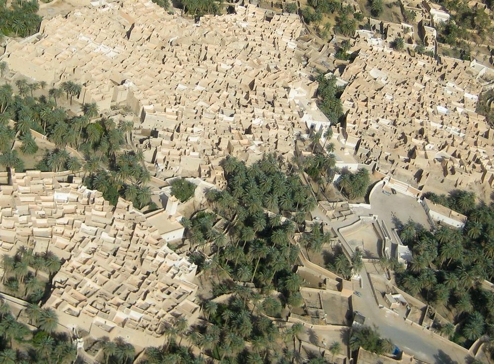 Ghadames city sahara desert